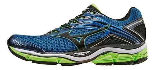 Mens Mizuno Wave Enigma 6 Running Shoe - Blue/Green 8.5