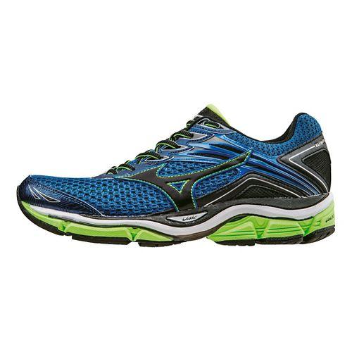 Mens Mizuno Wave Enigma 6 Running Shoe - Blue/Green 12