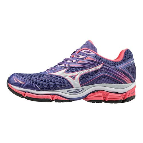 Womens Mizuno Wave Enigma 6 Running Shoe - Purple/Diva Pink 10.5