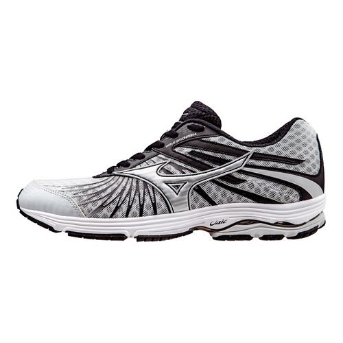 Mens Mizuno Wave Sayonara 4 Running Shoe - Grey/Black 10.5