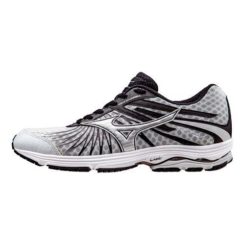 Mens Mizuno Wave Sayonara 4 Running Shoe - Grey/Black 7.5