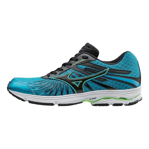 Mens Mizuno Wave Sayonara 4 Running Shoe - Atomic Blue/Black 13