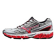 Mens Mizuno Wave Paradox 3 Running Shoe - Grey/Red 12.5