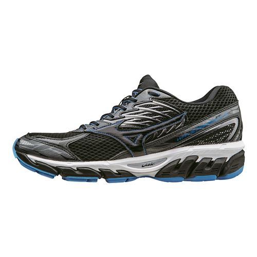 Mens Mizuno Wave Paradox 3 Running Shoe - Black/Blue 10.5