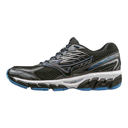 Mens Mizuno Wave Paradox 3 Running Shoe - Black/Blue 14
