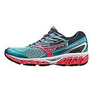 Womens Mizuno Wave Paradox 3 Running Shoe - Capri/Pink 10.5