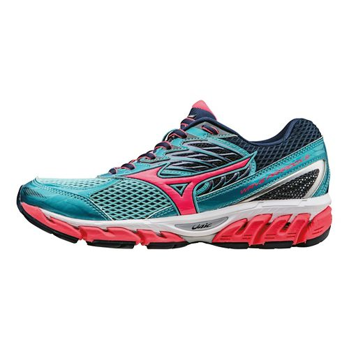 Womens Mizuno Wave Paradox 3 Running Shoe - Capri/Pink 9.5