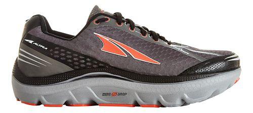 Mens Altra Paradigm 2.0 Running Shoe - Grey/Orange 9