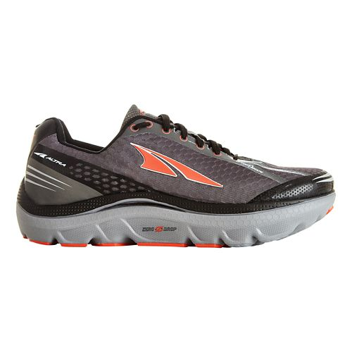 Mens Altra Paradigm 2.0 Running Shoe - Grey/Orange 7