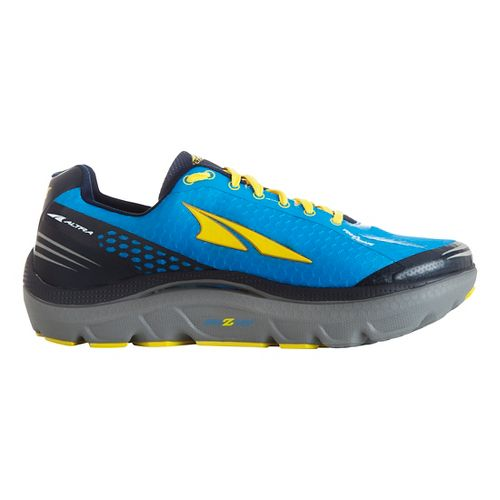 Mens Altra Paradigm 2.0 Running Shoe - Blue/Yellow 8