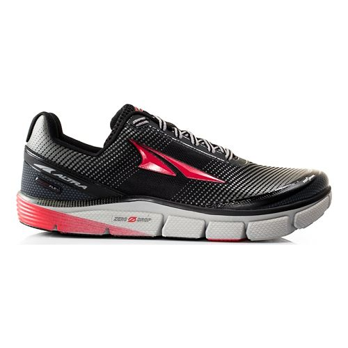 Mens Altra Torin 2.5 Running Shoe - Black/Red 8.5
