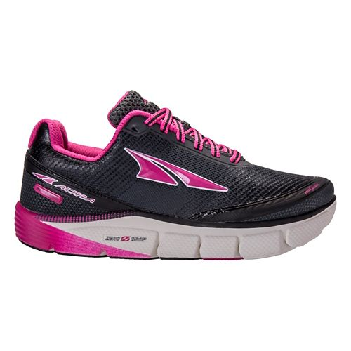 Womens Altra Torin 2.5 Running Shoe - Grey/Raspberry 6.5