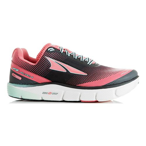 Womens Altra Torin 2.5 Running Shoe - Grey/Raspberry 10