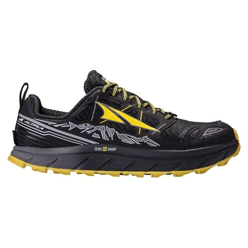 Mens Altra Lone Peak 3.0 Trail Running Shoe - Black 10.5