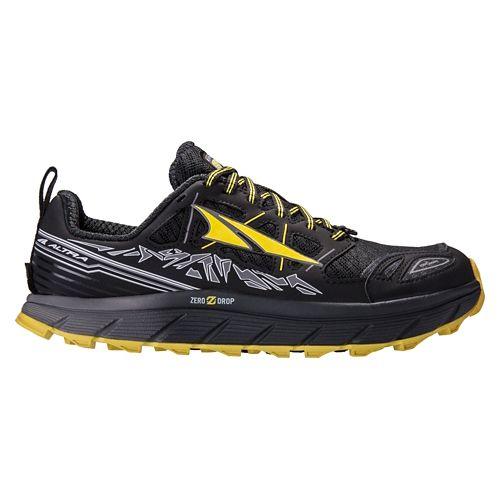 Mens Altra Lone Peak 3.0 Trail Running Shoe - Black/Red 7