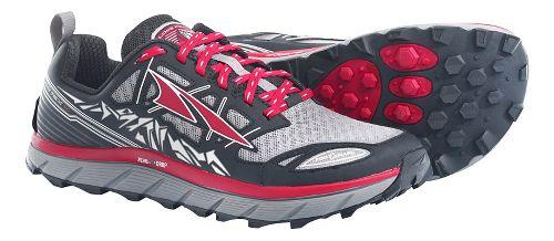 Mens Altra Lone Peak 3.0 Trail Running Shoe - Black/Red 8