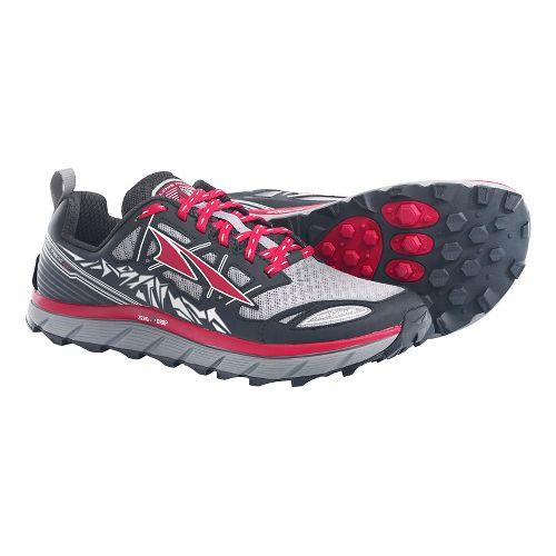 Mens Altra Lone Peak 3.0 Trail Running Shoe - Black/Red 12