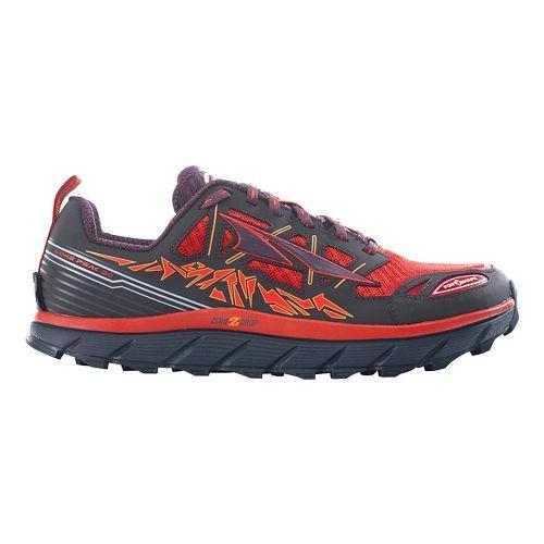 Mens Altra Lone Peak 3.0 Trail Running Shoe - Orange 10.5