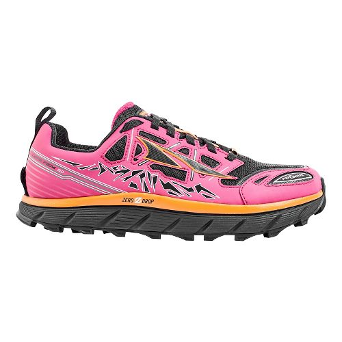 Womens Altra Lone Peak 3.0 Trail Running Shoe - Pink 8