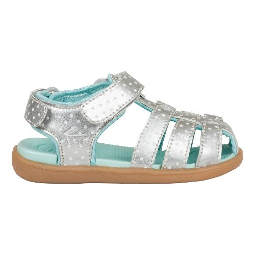 Kids See Kai Run Paley Sandals Shoe - Silver 8C