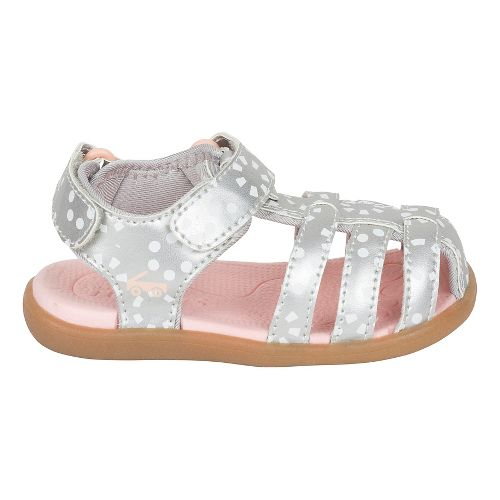 Girls See Kai Run Paley Sandals Shoe - Silver/White 7C