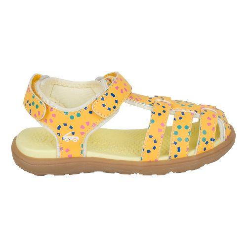 Girls See Kai Run Paley Sandals Shoe - Yellow 12C