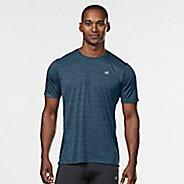 Mens Road Runner Sports Runner's High Printed Short Sleeve Technical Tops