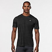 Mens Road Runner Sports Runner's High Printed Short Sleeve Technical Tops