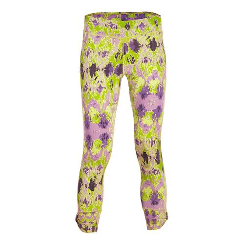 Womens Tasc Performance Bayou Booty 7/8 Tights & Leggings Pants - Kaleidoscope M