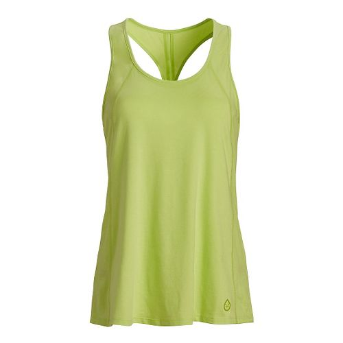 Womens Tasc Performance Falaya Racer Sleeveless & Tank Tops Technical Tops - Limeade M