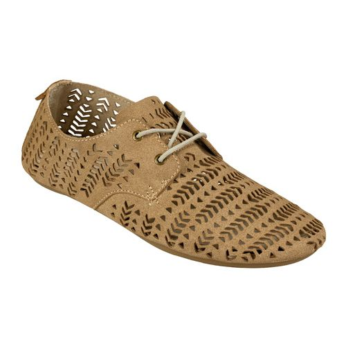 Womens Sanuk Bianca Perf Casual Shoe - Natural 8