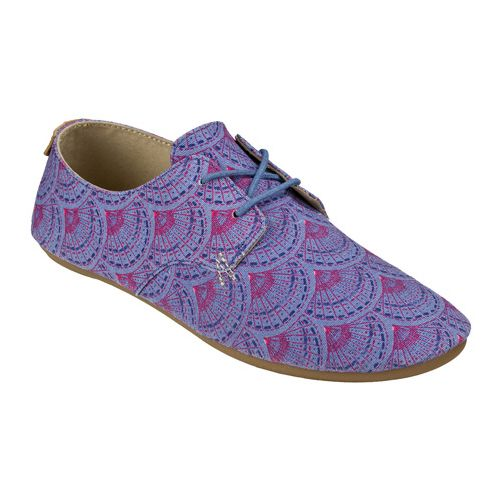 Womens Sanuk Bianca Prints Casual Shoe - Iris Sunrise 11