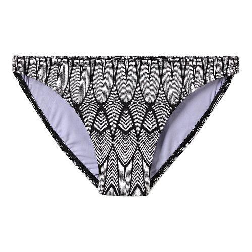Womens Prana Kala Bottom Swim - Black Feather L