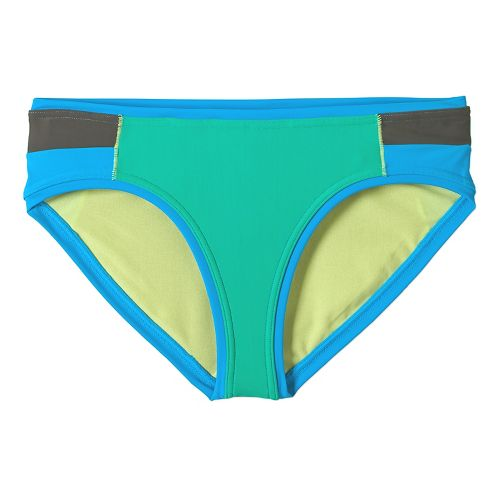 Womens Prana Milou Bottom Swim - Cool Green XS