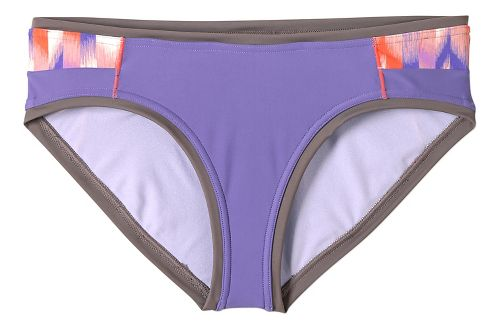 Womens Prana Milou Bottom Swim - Ultra Violet Ikat XS