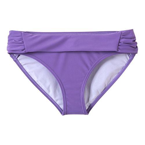 Womens Prana Sirra Bottom Swim - Ultra Violet L