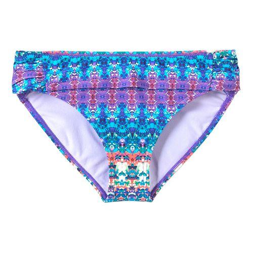 Womens Prana Sirra Bottom Swim - Aquabloom M