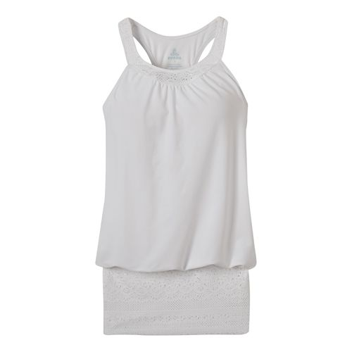 Womens Prana Ani Top Swim - White S