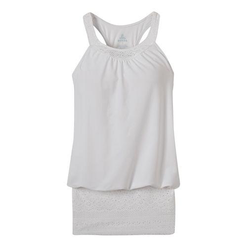 Womens Prana Ani Top Swim - White XL