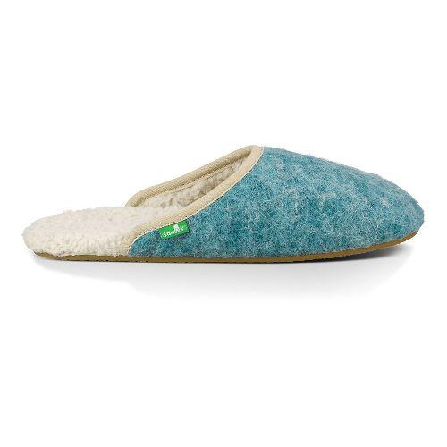 Womens Sanuk Furbrrr Casual Shoe - Eggshell 10