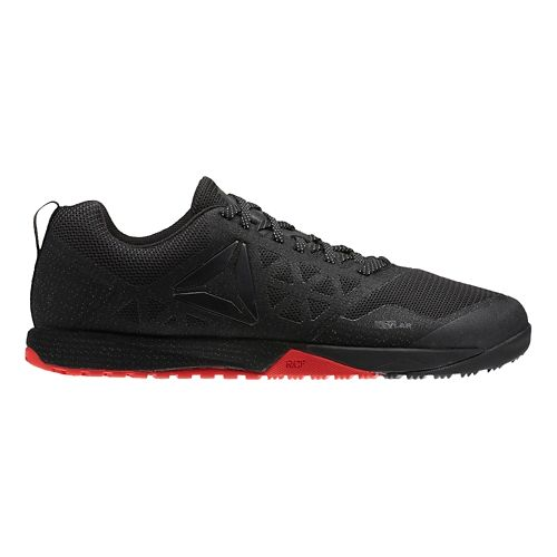 Mens Reebok CrossFit Nano 6.0 Cross Training Shoe - Black/Red 9.5