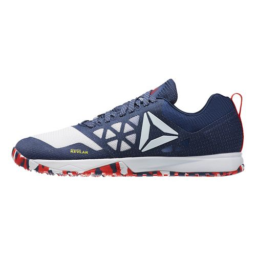 Mens Reebok CrossFit Nano 6.0 Cross Training Shoe - Red/White/Blue 8