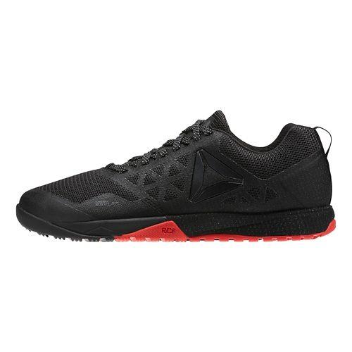 Womens Reebok CrossFit Nano 6.0 Cross Training Shoe - Black/Red 7.5