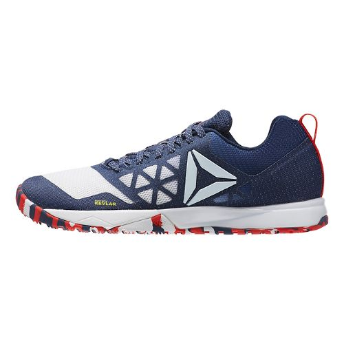 Womens Reebok CrossFit Nano 6.0 Cross Training Shoe - Red/White/Blue 8.5