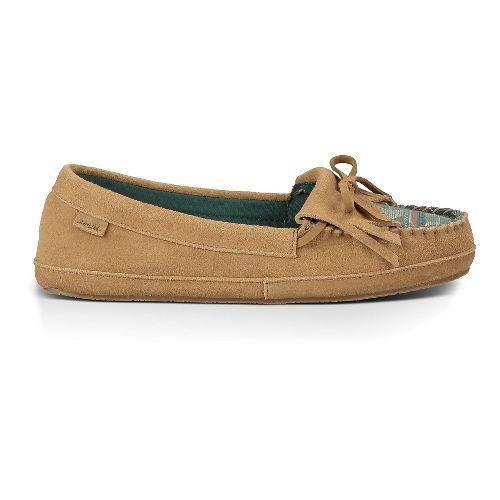 Womens Sanuk Lafayette Casual Shoe - Tan/Mallard 10