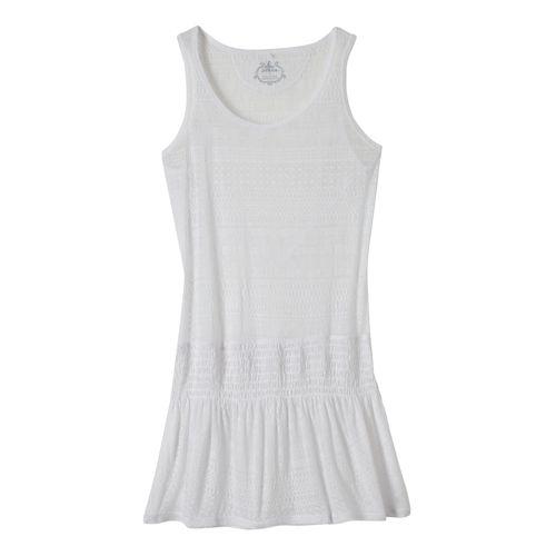 Womens Prana Zadie Dresses - White S