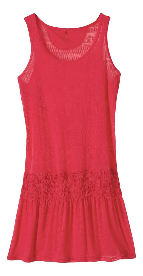 Womens Prana Zadie Dresses - Azalea XL