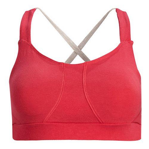 Womens Tasc Performance Ta-Ta For Now Studio Sports Bra Bras - Flamingo XL