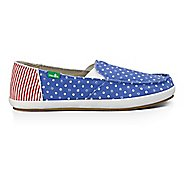 Womens Sanuk Overboard Patriot Casual Shoe
