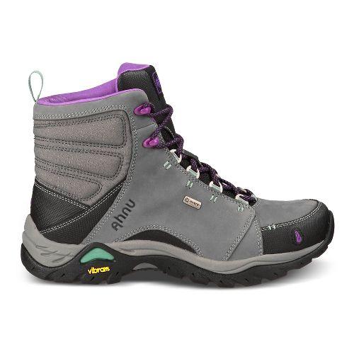 Womens Ahnu Montara Boot Waterproof Hiking Shoe - Dark Grey 5
